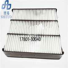 цена на 17801-30040 Car Air filter for 2003-2007 Toyota Prado 2700 2.7L auto part air filter