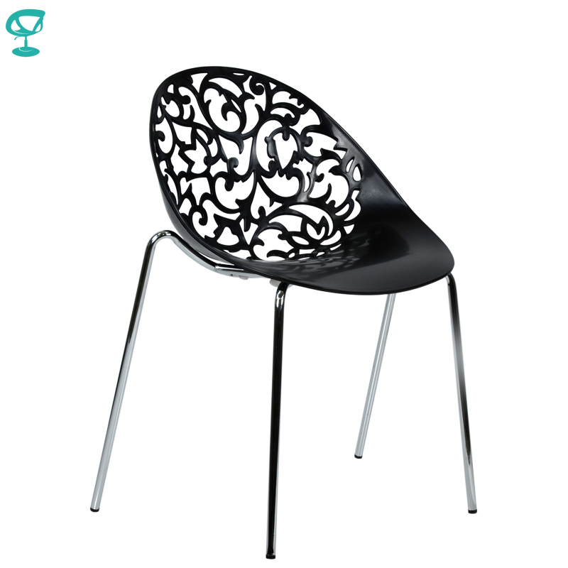 94971 Barneo N-223 Plastic Kitchen Interior Stool Chair For A Street Cafe Chair Kitchen Furniture Black Free Shipping In Russia