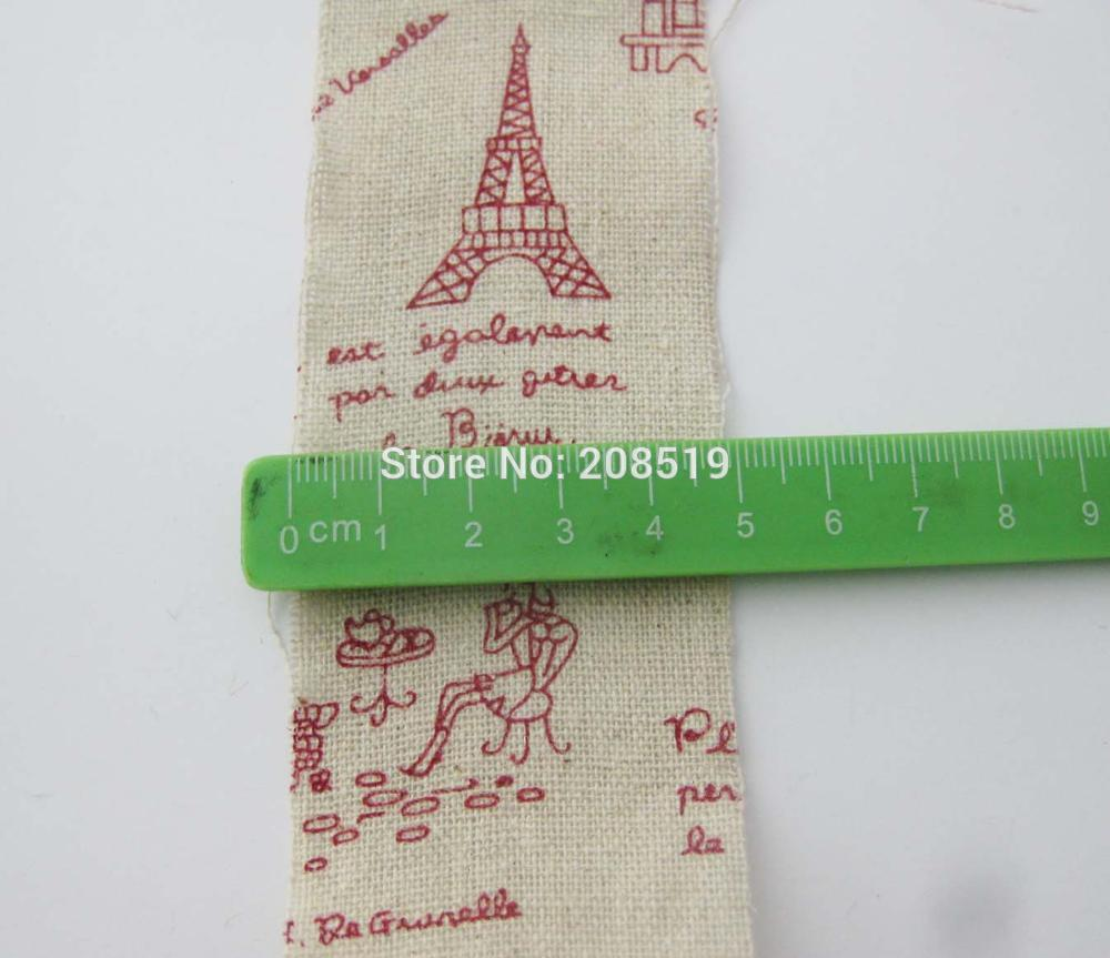 Cr0027 Jute Burlap Ribbon 50mm Width 3 Meter Each Roll Diy Home