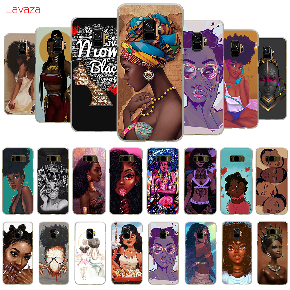 Lavaza Beautiful Afro Girls Hard Phone Case For Samsung Galaxy A10 A30 A40 A50 A70 M10 M20 M30 Cover
