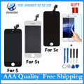 Best Sale Quality AAA For iPhone 5S 5G 5C LCD DisplayTouch Screen Digitizer Assembly Replacement 100% Test Freeshipping