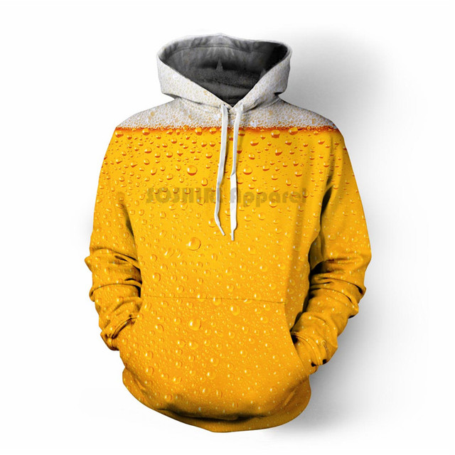 Punk Hoodies Men's Outfit Autumn Winter Loose Hooded