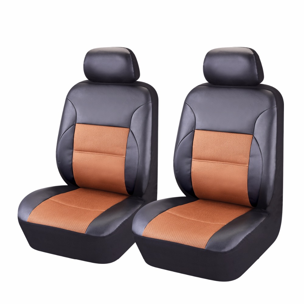 high quality 2 front pvc leather car seat cover polyester. Black Bedroom Furniture Sets. Home Design Ideas