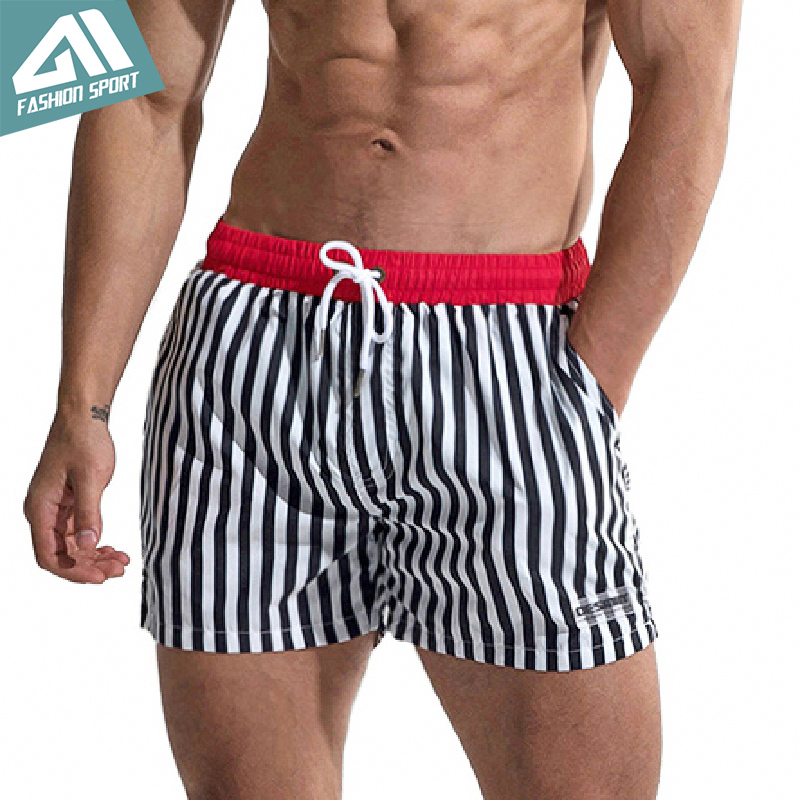 Desmiit Fast Dry Men's Board Shorts 2018 Beach Surfing Swimming Shorts with Lining Liner Sport Workout Running Trunks AM2058