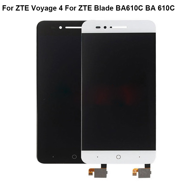 For <font><b>ZTE</b></font> Voyage 4 LCD Screen 100% Original LCD Display +Touch Screen Assembly Replacement For <font><b>ZTE</b></font> <font><b>Blade</b></font> BA610C BA <font><b>610C</b></font> image