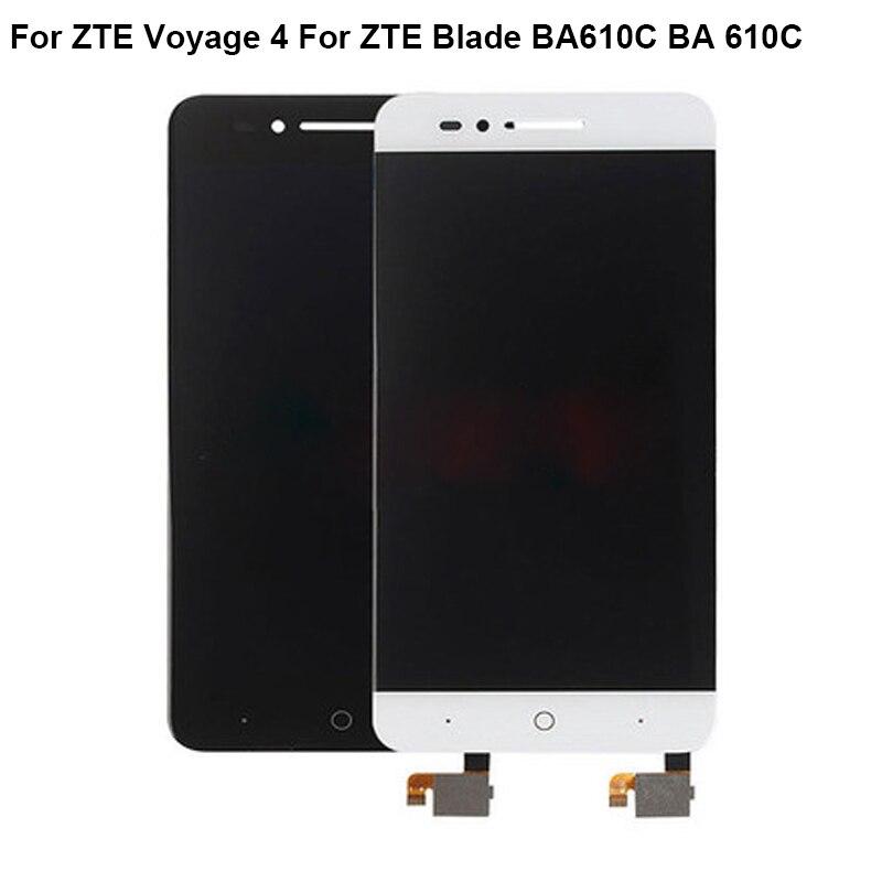 Pour ZTE Voyage 4 écran LCD 100% écran LCD d'origine + remplacement de l'assemblage de l'écran tactile pour ZTE Blade BA610C BA 610C