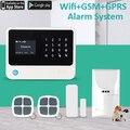 Система безопасности G90B Plus  безопасная для домашних животных  Wi-Fi  gsm  gprs  sms  4 способа дистанционного управления