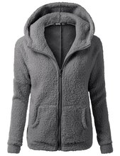 AAA Grade Clearance S-5XL Autumn Winter Cashmere Hooded Coat Cardigan Zipper Hooded Sweater Plus Size Cashmere Coat