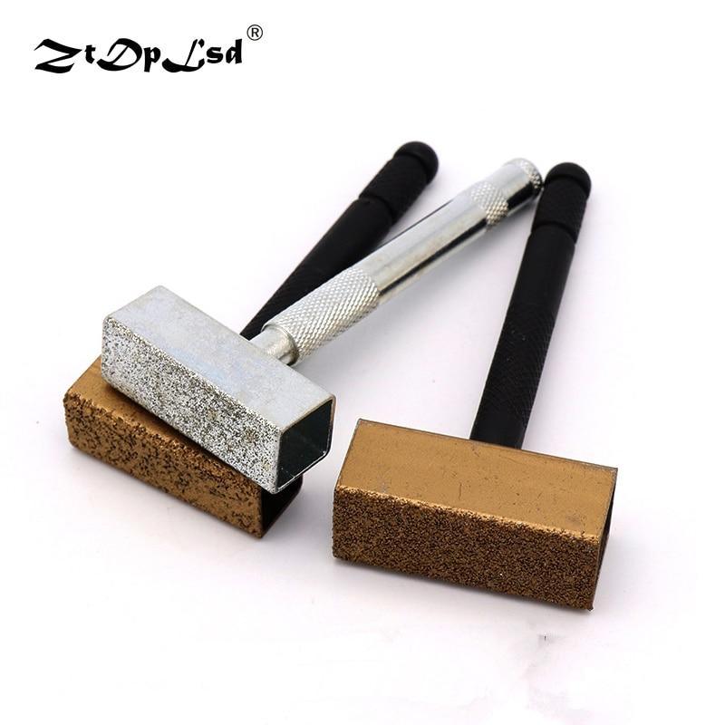 ZtDpLsd 1Pcs Diamond Grinding Wheel Dresser Metal Grinder Stone Dressing Tool Disc Bench Sintered Dress Tools