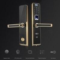 Цифровой замок по отпечатку пальца безопасности двери дома пароль дистанционного интеллектуальная электронная интегральная схема блокир