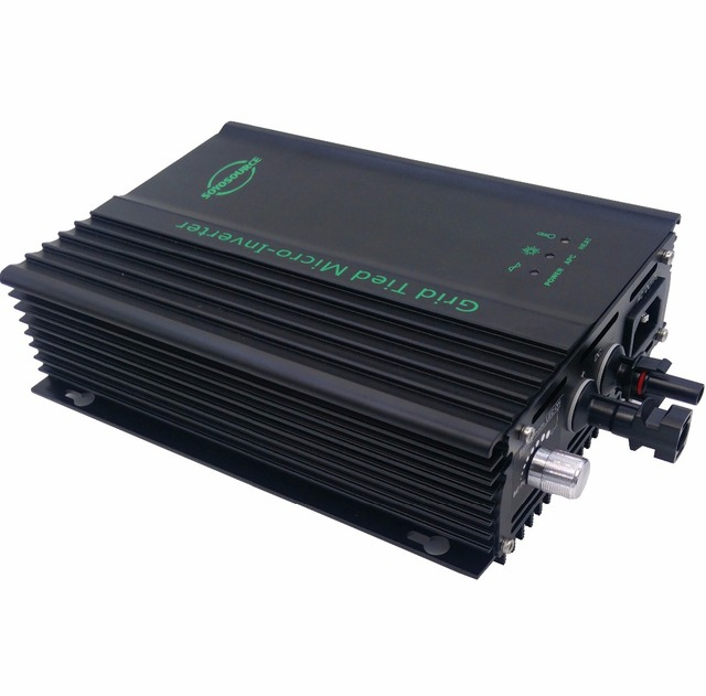 600w Grid tie inverter dc 24v battery 36v to AC120V or 230V high efficiency For Battery Adjustable Power Output pure sine wave