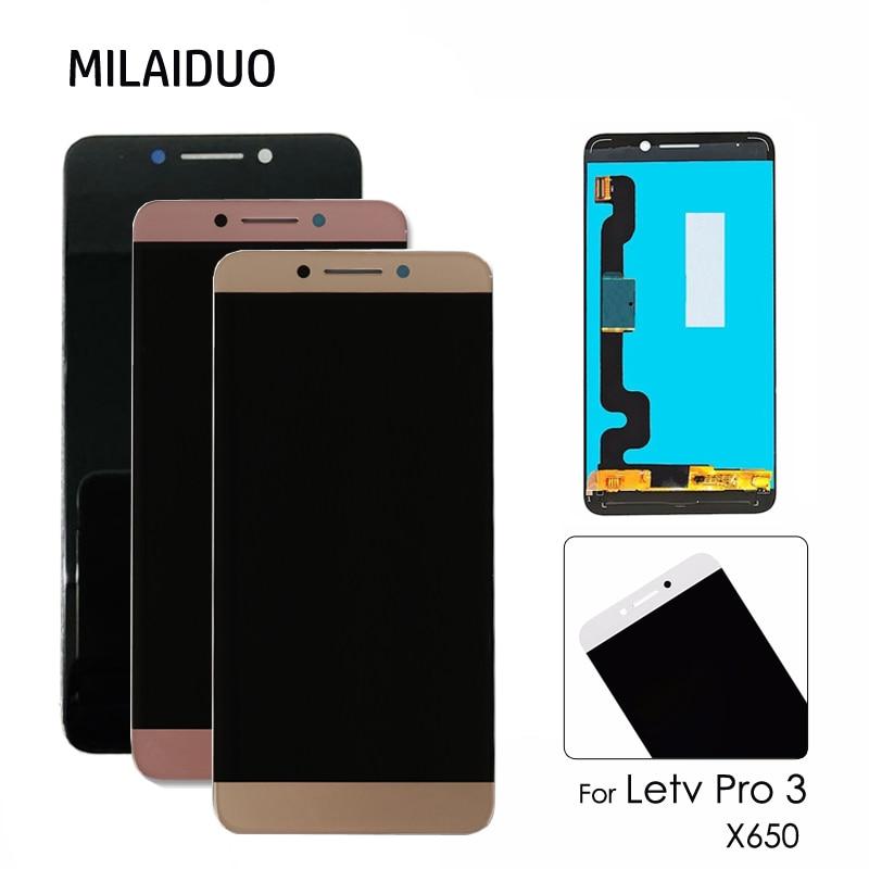 Display LCD Original Para LeTV LeEco Le Le Pro 3 3X650X651X656X658X659 5.5 ''LCD Touch Screen Digitador Assembléia Substituição