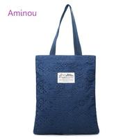 Aminou New Canvas Bags Handbags Women Famous Brands High Quality Vintage Shoulder Bags Women Messenger Bags