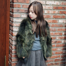 New Children Real Silent Fur Coat Baby Girls Autumn Winter Thick Warm outerwear Fur Clothing Coat Kids Solid Fur Clothing все цены