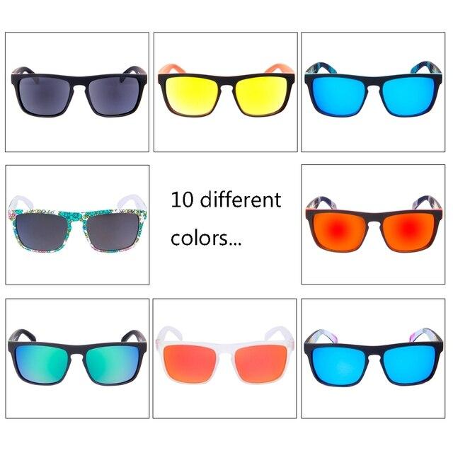 QUESHARK Professional HD TR90 Frame Polarized Fishing Sunglasses Bicycle Glasses UV400 Hiking Climbing Sunglasses Sets 3