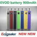 10 unids 2017 más nuevo cigarrillo electronique originales populares ecig ecigator cigarrillo electrónico mt3 evod batería 900 mAh (1 * EVOD batería)