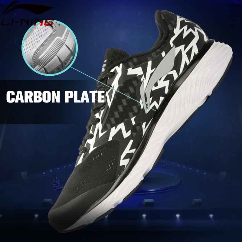 Li-Ning Men's Breathable Cushioning Light Li-Ning CLOUD Chip Smart Running Shoes Sneakers LiNing Sports Shoes ARHL037 XYP393 original li ning men professional basketball shoes