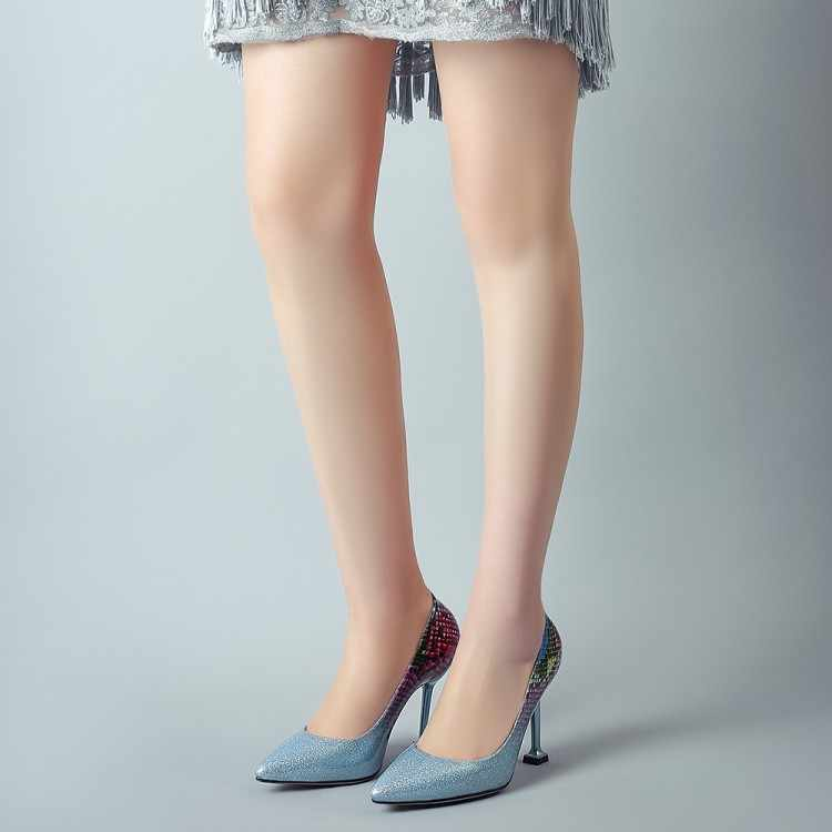 Big Size 9 10 11 12 13 14 15 16 17 dames hoge hakken vrouwen schoenen vrouw pompen Spitse slippers