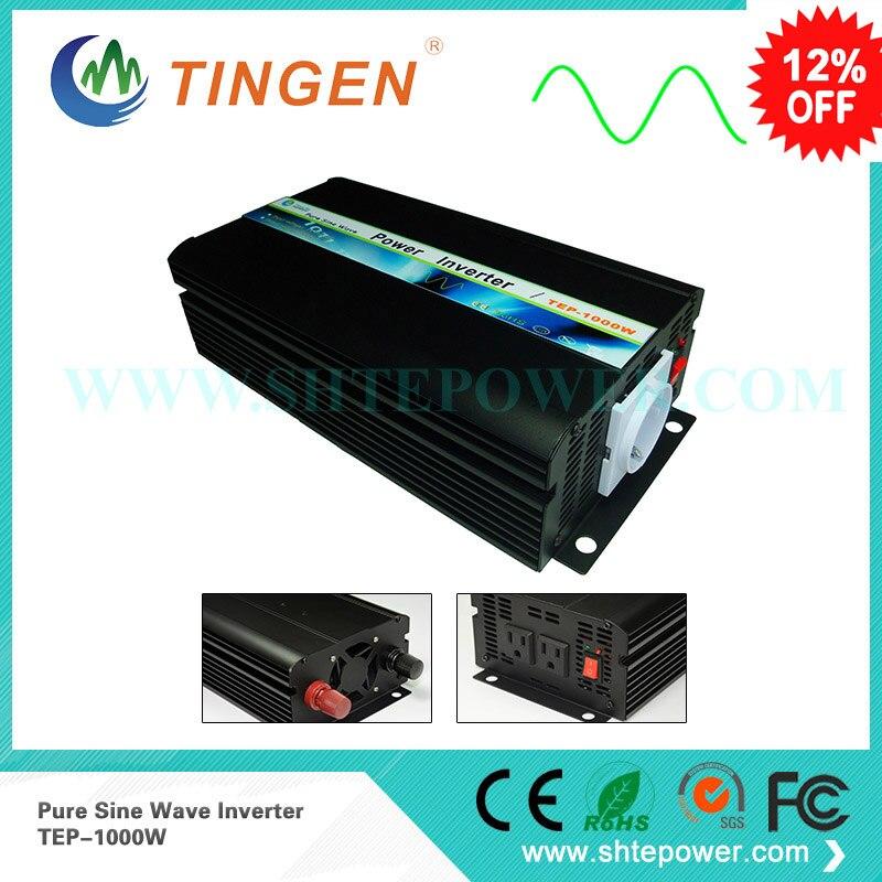 цена на 12v 220v pure sine wave inverter 1kw 1000w solar inverter