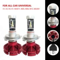 OL 2PCs H7 H4 LED Headlight Bulbs H11 H1 H13 H3 H27 9005 HB3 9006 HB4