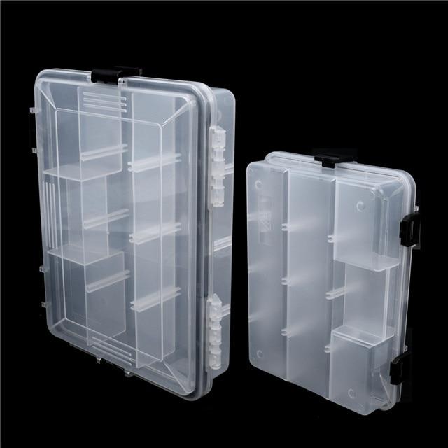 Maximumcatch Brand 22.5*16.5*5cm/28*18*5cm Plastic 5-11 Compartments Waterproof Fishing Box Fishing Tackle Box