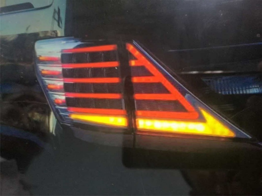 Free shipping for China VLAND Car led taillight for 2008-2014 Toyota Alphard rear lamp With DRL+Brake light+reversing lamp free shipping vland factory car parts for camry led taillight 2006 2007 2008 2011 plug and play car led taill lights