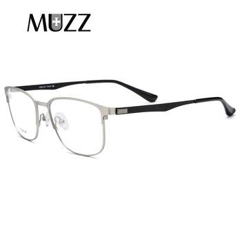 f6da3b2e80 TR90 de aleación de titanio gafas hombres miopía Ojo de vidrio sin  tornillos de alta calidad anteojos recetados completa marcos ópticos Eyewer
