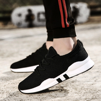 High Quality Fashion Casual Shoes Men Breathable Air Mesh Sneakers Sport Shoes Walking Running Men Flats Outdoor Footwear 2019