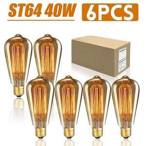 6PCS/Box ST64 E27 LED 40W Dimm