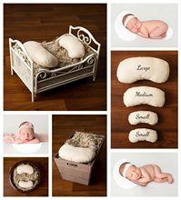 2018 HOT! Newborn Photography Posing Beans/ Pillows/ Props – 4 Pack Set