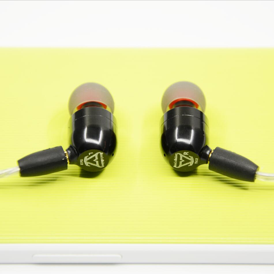 New TONEKING MusicMaker TK12s Dynamically And BA 3 Unit Earphone HIFI Fever DIY Hybrid In Ear Earphone As K3003 With MMCX Cable