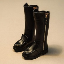 Новый Женская зимняя обувь для девочек зимние сапоги теплая обувь slipproof Водонепроницаемый искусственная кожа обувь Плюшевые обуви 952