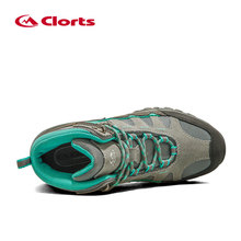 Clorts Women Hiking Boots Waterproof Trekking Shoes Suede Outdoor Shoes Woman Mountain Shoes HKM-823B/E/F