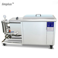 Limplus 175L Industrial Digital Ultrasonic Cleaner 28KHz/40KHz Ultrasonic Power Sonic Removal Oil Dust Electronic Equipment