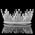 Simulated Pearl Crystals Princess Queen Pearl Jewelry Wedding Party Hair Accessories Headwear Bridal Tiaras And Crowns HG00094
