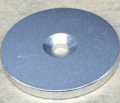 1pcs Super Strong Round Neodymium Countersunk Ring Magnets 60mm x 5mm Hole:10mm N50 Neodymium Magnet diy 5mm round neodymium magnets purple 216 pcs