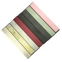 Set of 8 Knife Sharpener Stone Polishing Whetstone Oilstone w/ Base 240 10000#