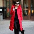 free shipping 2016 New winter women warm cotton padded leopard blazer Jacket thick hooded slim waist coat W15