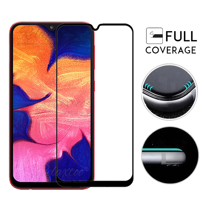 Image 5 - Protective Glass For Samsung A10 Screen Protector On the For Samsung Galaxy A10 Tempered Glas a 10 sm A105F A105 display Film 9h-in Phone Screen Protectors from Cellphones & Telecommunications