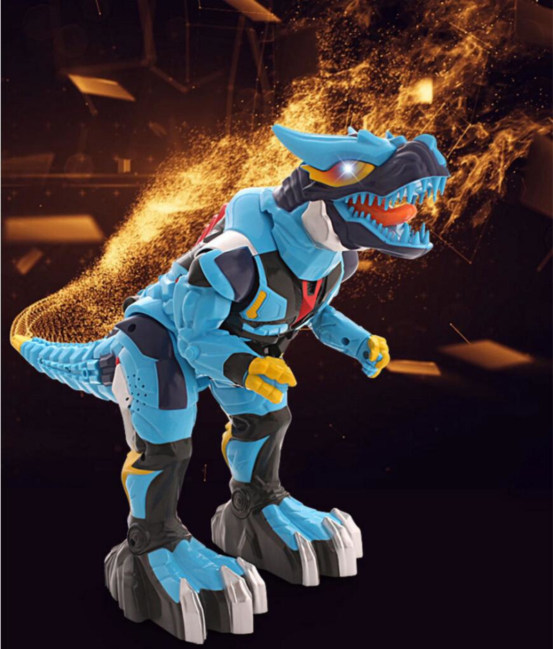 Kid Educational toy Electric Deformation Remote Contorl Dinosaur Toy Voice Command Control One Key Deoformation with light Sound цены