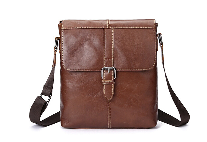 High Quality Genuine Leather Men Bags Male Small Messenger Bag Man Crossbody Shoulder Bag Men's Travel New Bags 0023# xi yuan 2017 genuine leather bags men high quality messenger bags small travel dark brown crossbody shoulder bag for men gifts