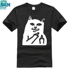 100% cotton O-neck printed T-shirt Featured you meme T shirt 2016