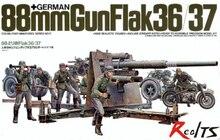 RealTS TAMIYA MODEL 1 35 SCALE military models 35017 German 88mm Gun Flak 36 37
