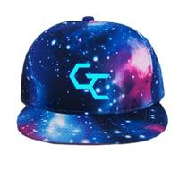 Anime Guilty Crown Logo Printing Cotton Luminous Hat Sun Hat Baseball Cap Unisex Accessories Cosplay Hip