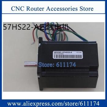New Leadshine 57HS22 57HS22-A 57HS22-S 2 phase NEMA23 hybrid stepper motor wire 8MM Shaft