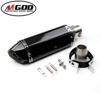 Universal Motorcycle dirt bike exhaust escape Modified Scooter Akrapovic Exhaust with db killer Muffle Fit for most motorcycle