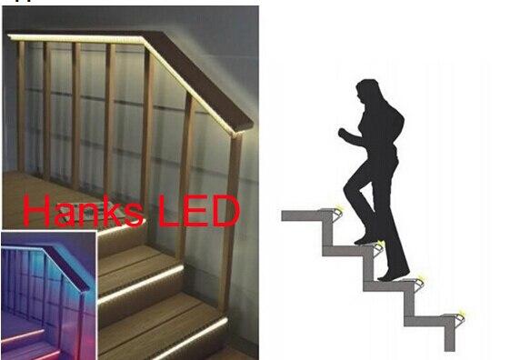 Beautiful 10 Teile/los 1 MT LED Aluminium Strangpressprofil Für Treppen Beleuchtung  Innere Breite 12mm In 10 Teile/los 1 MT LED Aluminium Strangpressprofil Für  ...