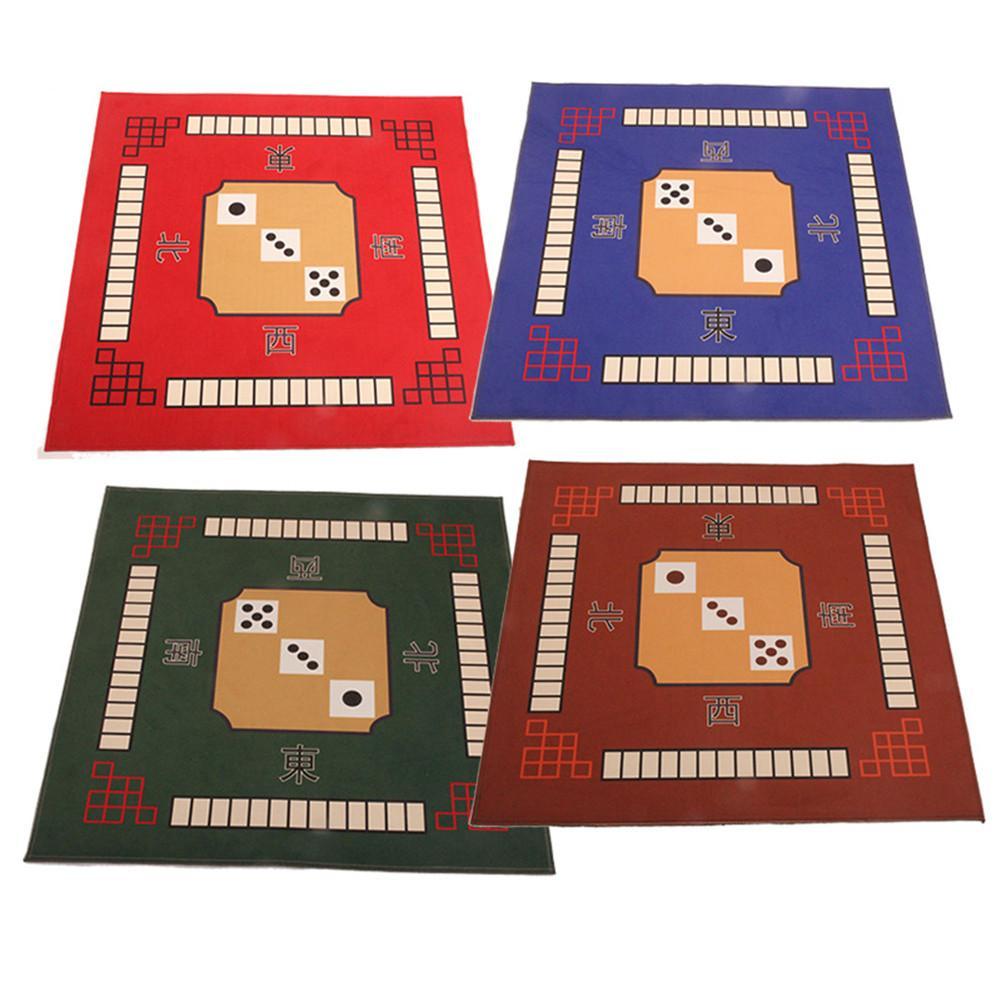 Universal Mahjong Table Cover Square Rug, Poker Table Cover, Card Games, Board Games, Gaming Tile, Dominos Mahjong Table Cover(China)