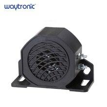 Bocina de alarma de marcha atrás con alarma de reserva 105db, resistente al agua, bocina de alarma de marcha atrás para 12V 24V 48V 60V motocicleta coche vehículo
