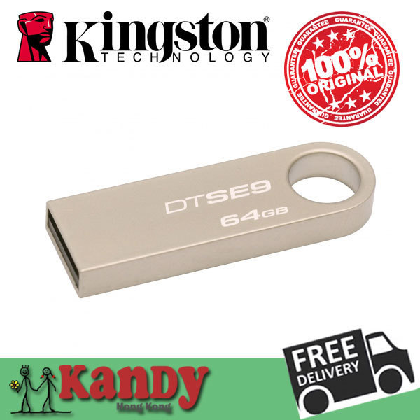 Venta Kingston dtse9 metal usb 2.0 flash drive pen drive 64 gb pendrive cle usb stick mini chiavetta regalo del usb memoria memory stick